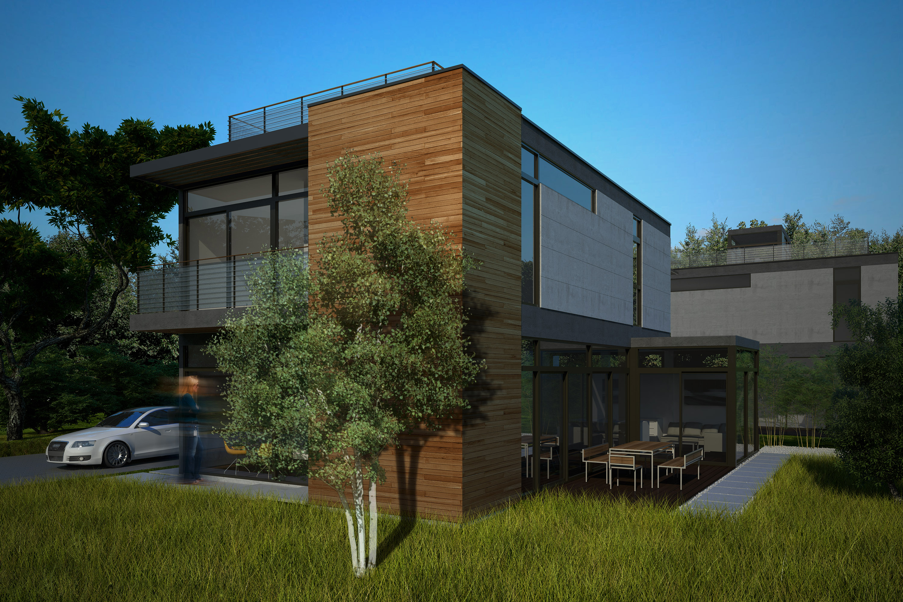 Nexterra and livinghomes establish eco enclave in toronto for Green living homes