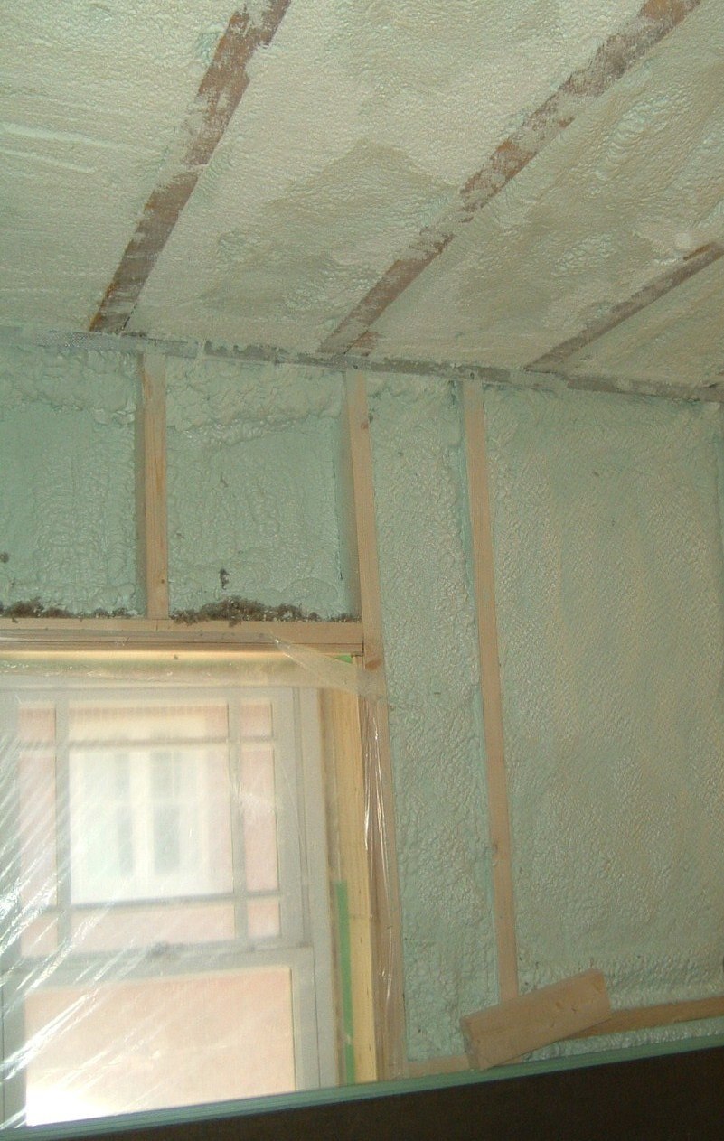 Heatlok Spray Foam Insulation Soy And Recycled Plastic
