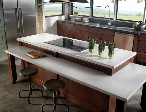 Eco Countertop Materials : Eco by Cosentino Countertops contain 75% recycled material