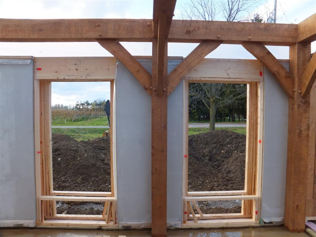 Straw Bale Sip Walls By Naturebuilt 187 Bec Green