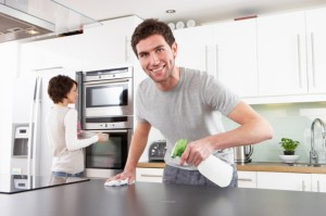 Vinegar is a great household cleaner