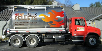 Vermont Renewable Fuels delivery truck