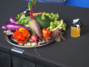Harvest Bounty from the Montreal Convention Centre's Green Roof