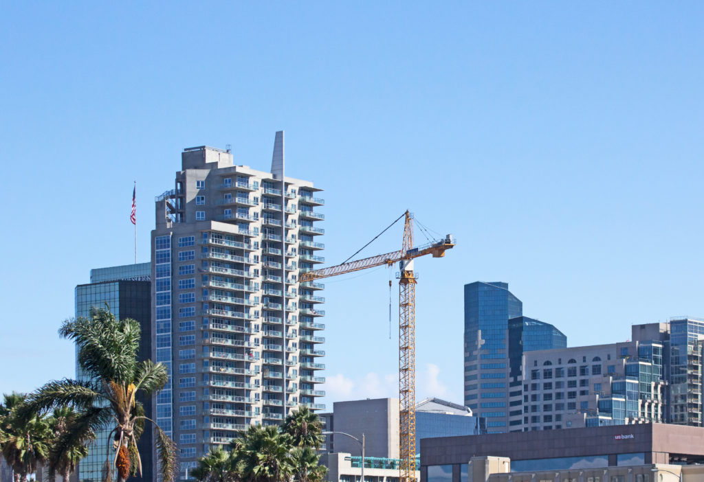 San Diego Skyline (under construction)